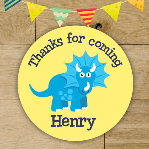personalised birthday stickers thank you stickers party bag seals