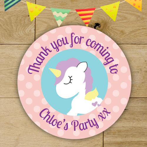 Home · others personalised birthday party stickers party bag seals thank you stickers for girls