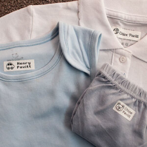 iron-on clothing name labels