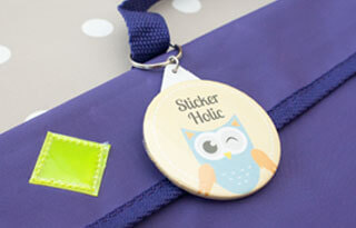 PERSONALISED BAG TAGS