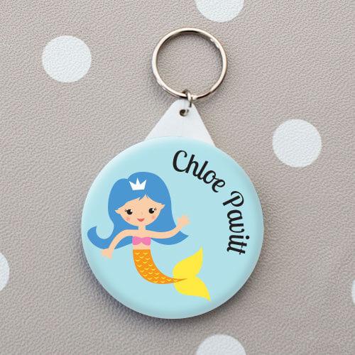 mermaid name tag