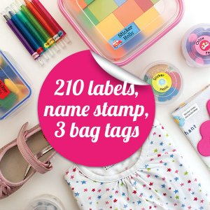 sticker holic School Name Labels Mega Pack 1